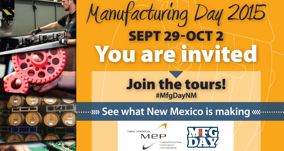 Manufacturing Day 2015: You Are Invited postcard