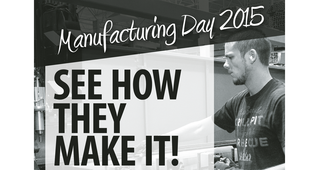 See How They Make it! Mfg Day 2015 print ad