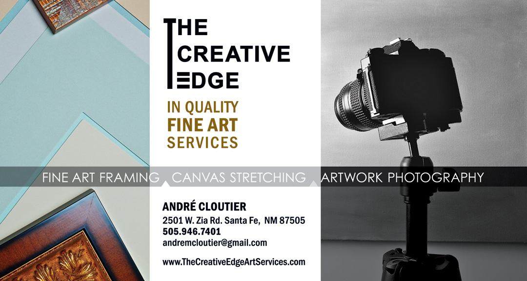 The Creative Edge postcard introducing services